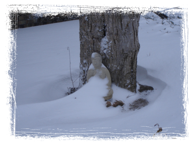 Winter Buddha II